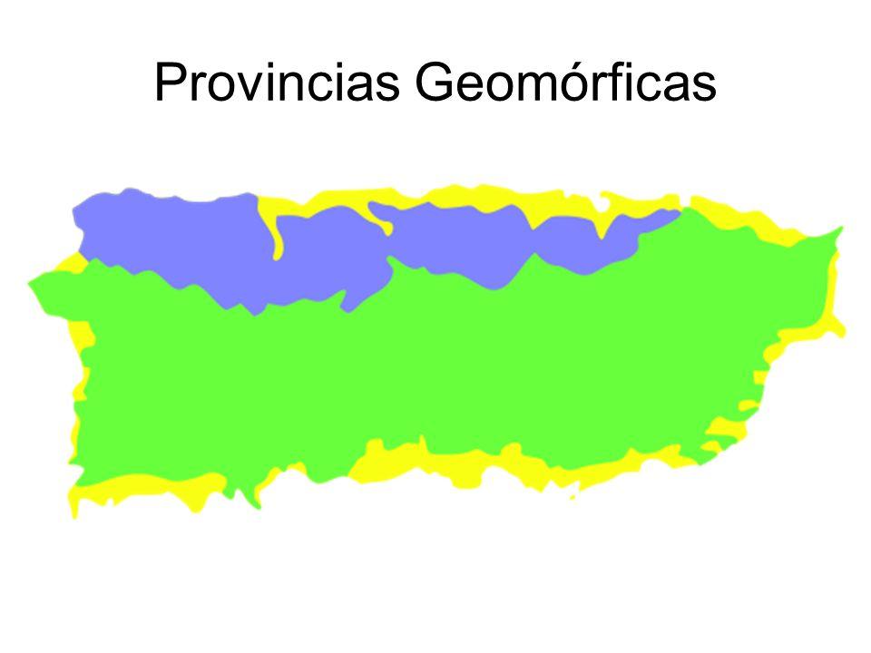 Provincias Geomórficas