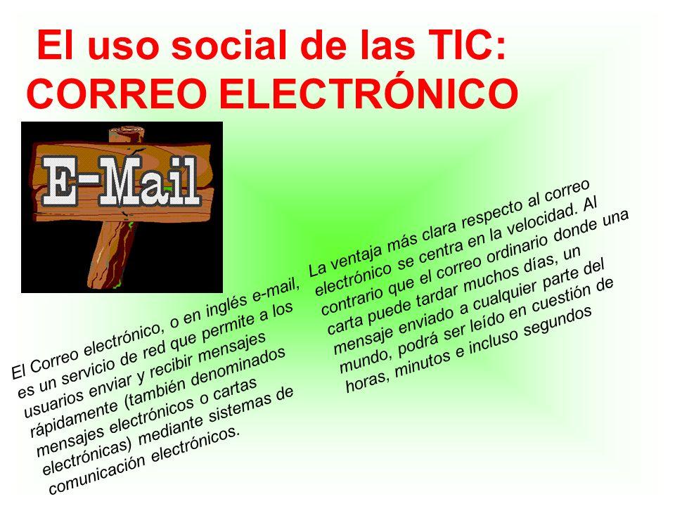 El uso social de las TIC: