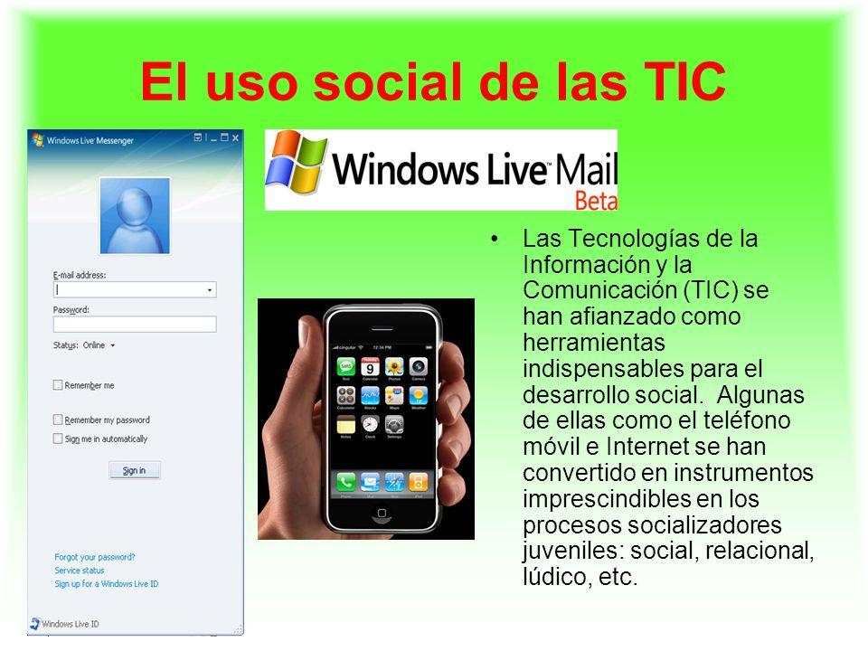 El uso social de las TIC