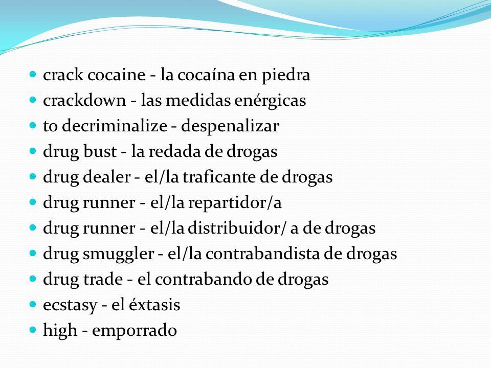 crack cocaine - la cocaína en piedra
