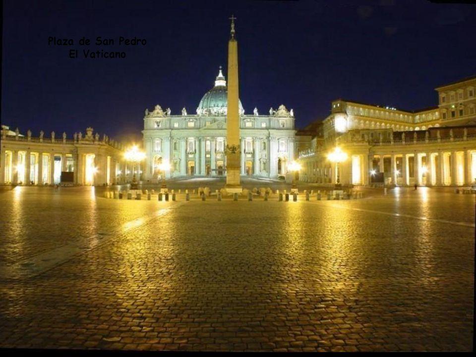 Plaza de San Pedro El Vaticano