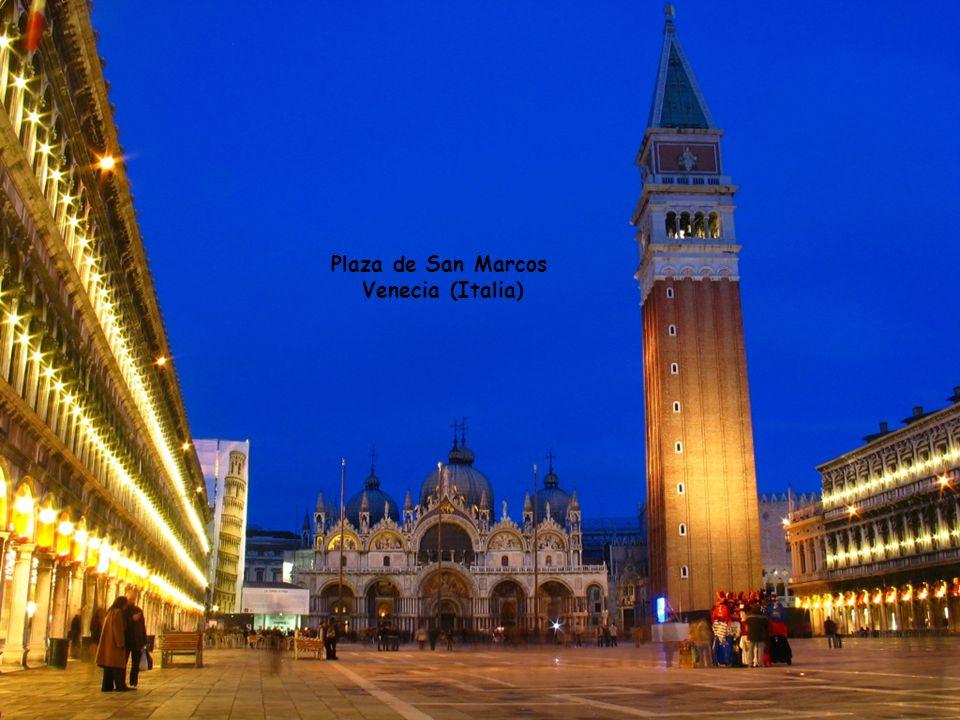 Plaza de San Marcos Venecia (Italia)