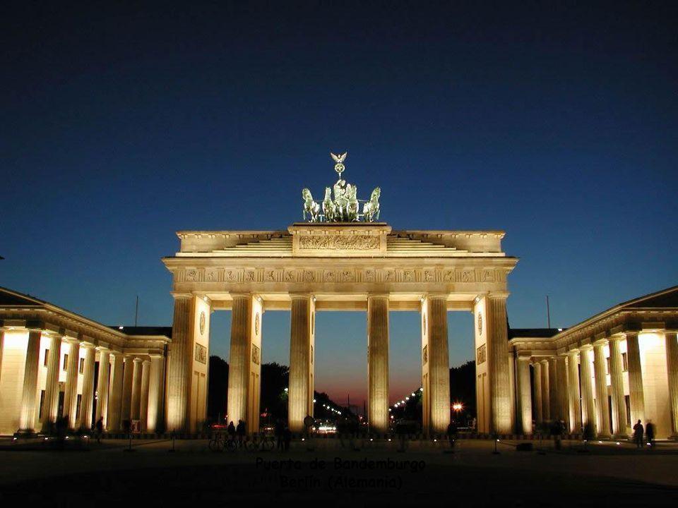 Puerta de Bandemburgo Berlín (Alemania)