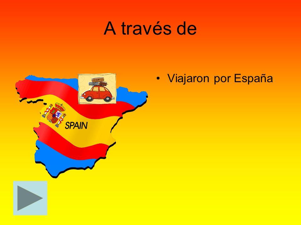 A través de Viajaron por España