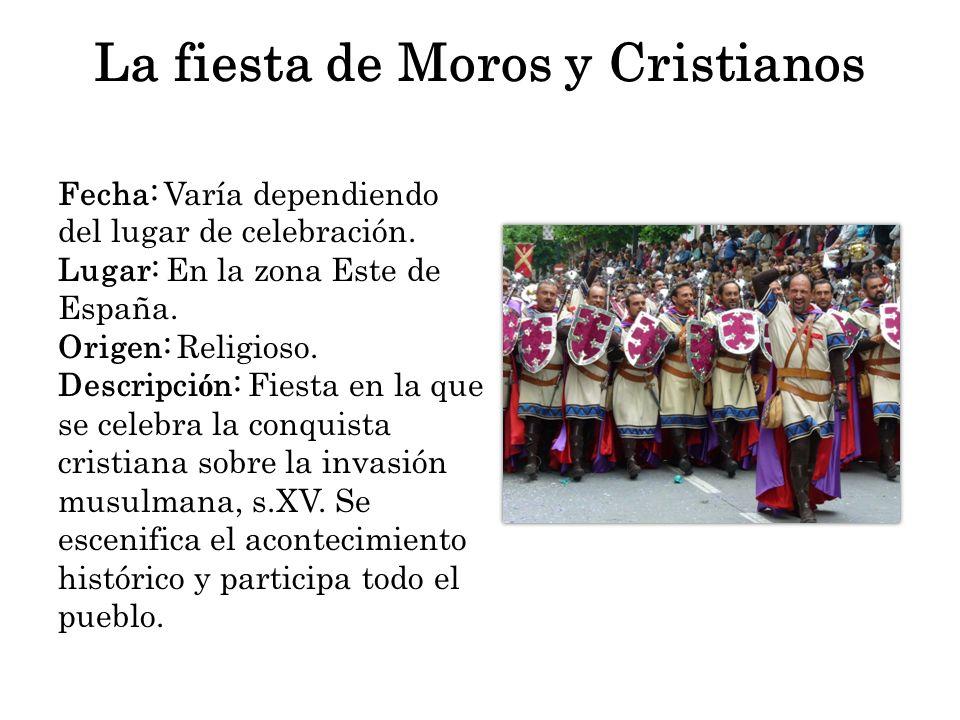 La fiesta de Moros y Cristianos