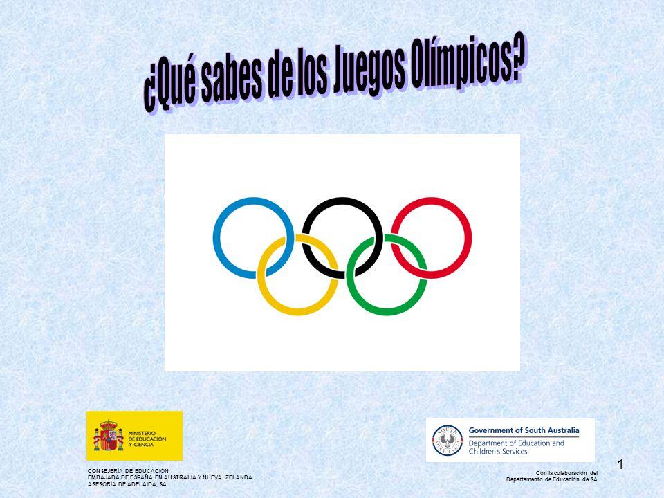 ¿Qué sabes de los Juegos Olímpicos