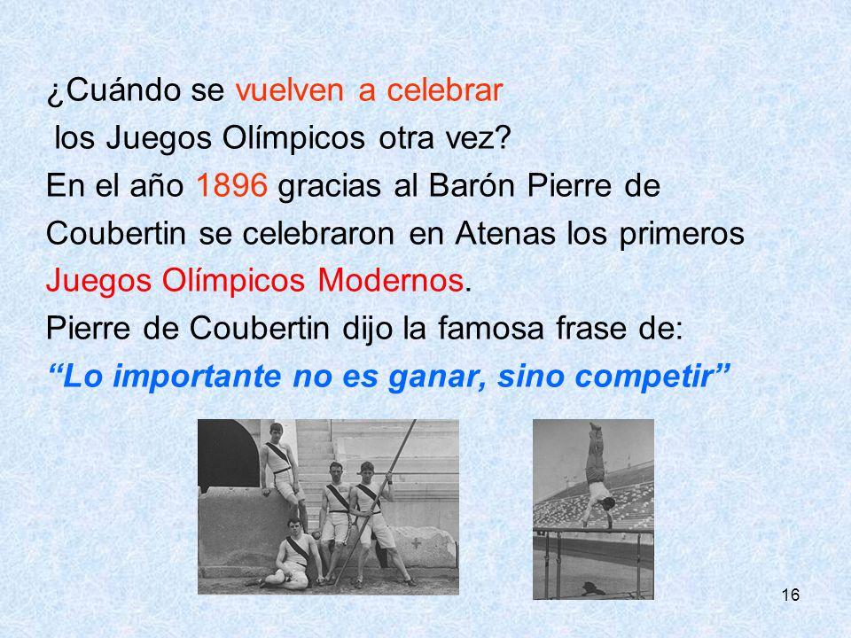 ¿Cuándo se vuelven a celebrar los Juegos Olímpicos otra vez