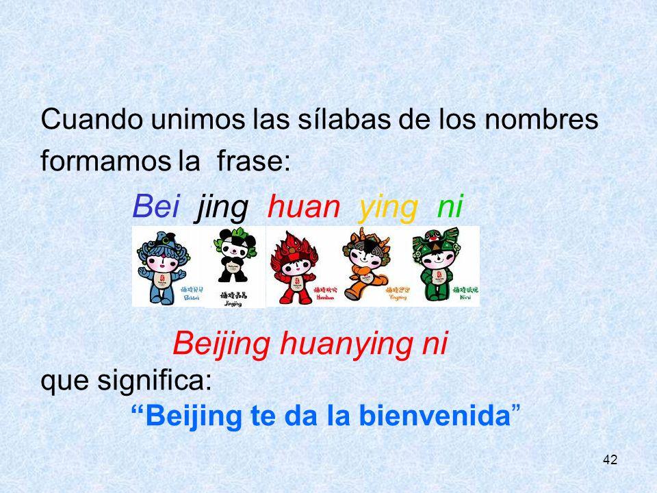 Bei jing huan ying ni Beijing huanying ni