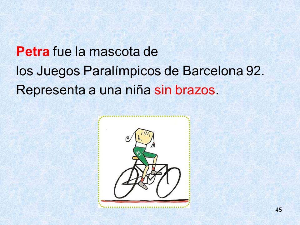 los Juegos Paralímpicos de Barcelona 92.