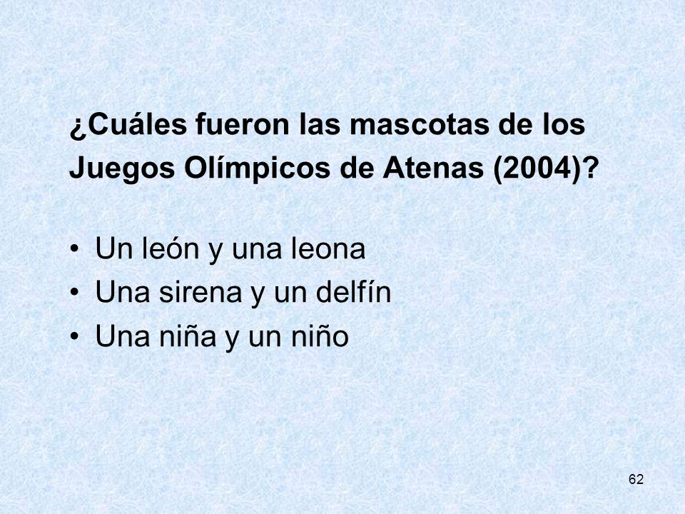 ¿Cuáles fueron las mascotas de los Juegos Olímpicos de Atenas (2004)