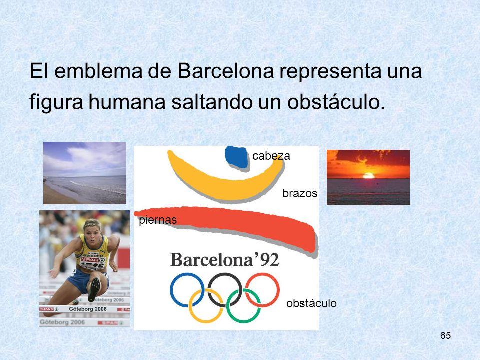El emblema de Barcelona representa una