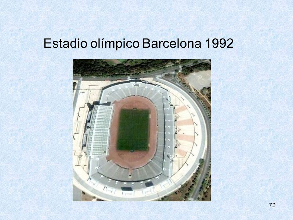 Estadio olímpico Barcelona 1992