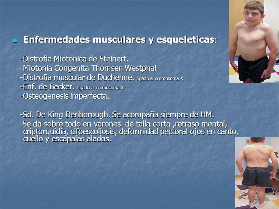 Enfermedades musculares y esqueleticas: