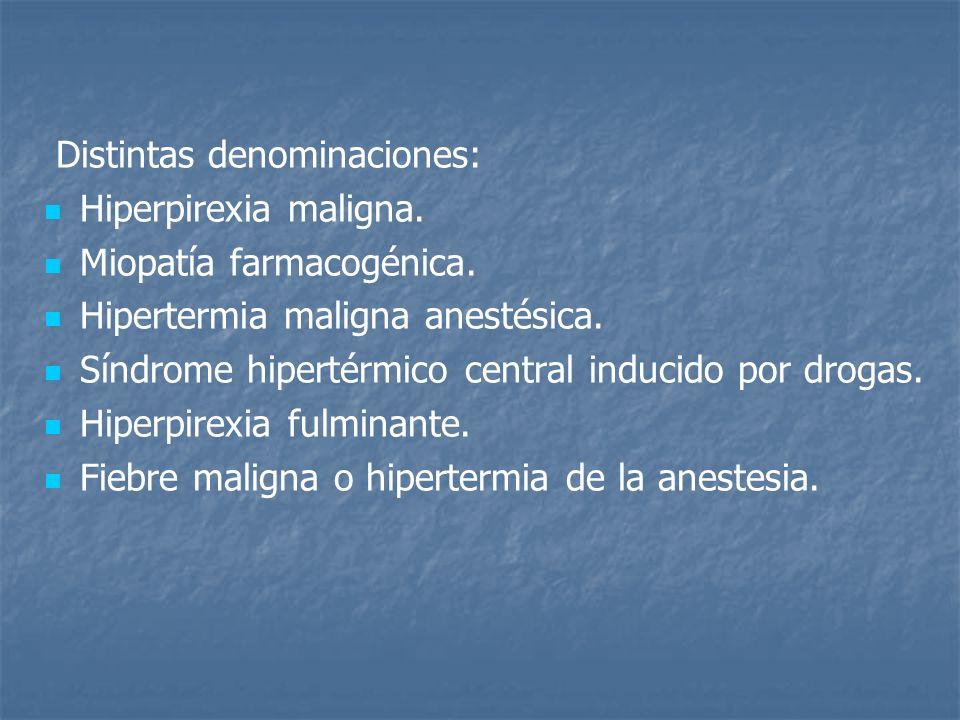 Distintas denominaciones: