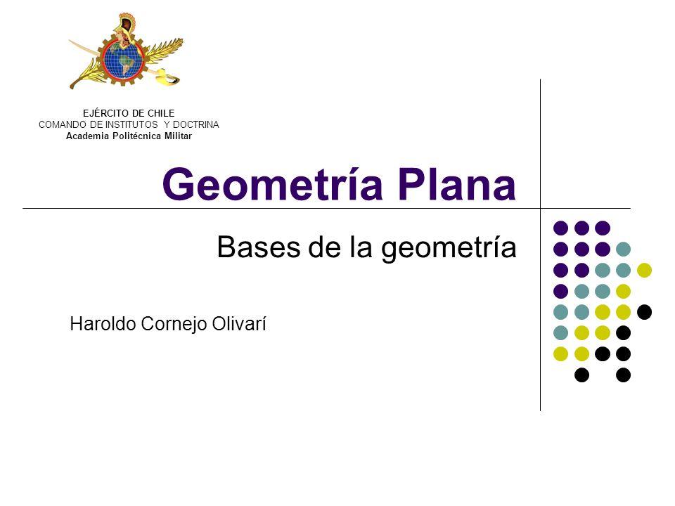 Bases de la geometría Haroldo Cornejo Olivarí
