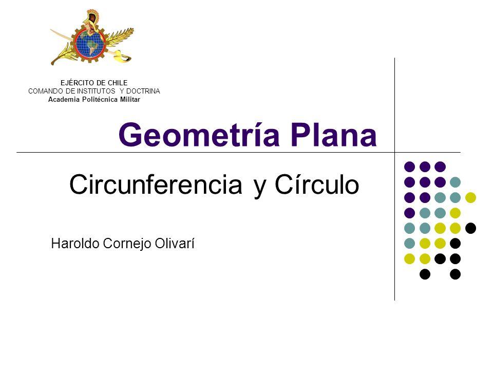 Circunferencia y Círculo Haroldo Cornejo Olivarí