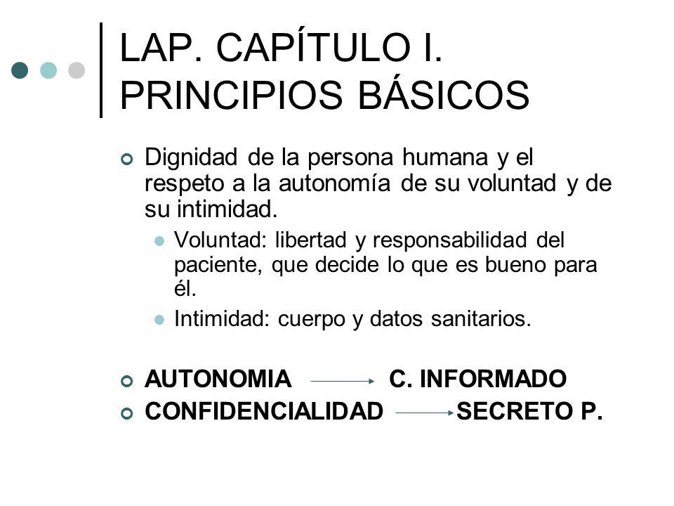 LAP. CAPÍTULO I. PRINCIPIOS BÁSICOS