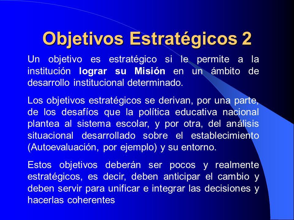 Objetivos Estratégicos 2