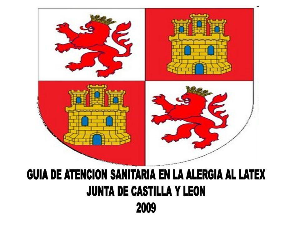 GUIA DE ATENCION SANITARIA EN LA ALERGIA AL LATEX
