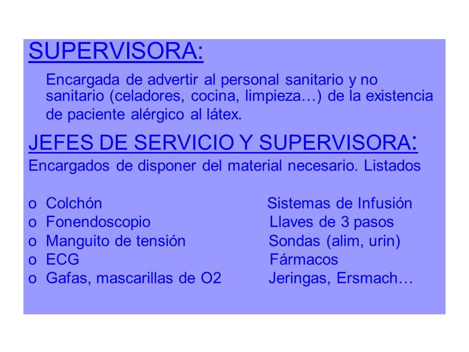 SUPERVISORA: