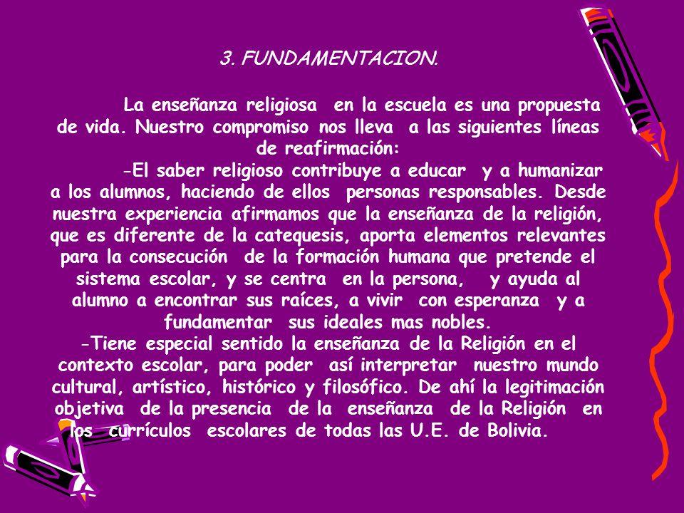 3. FUNDAMENTACION.