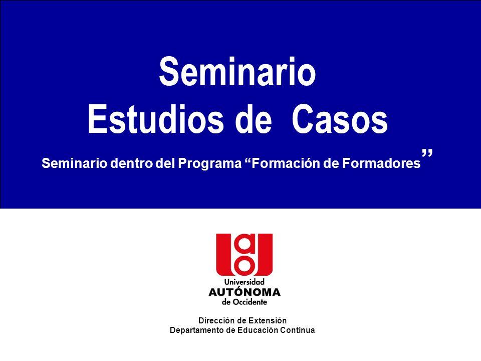 Seminario Estudios de Casos