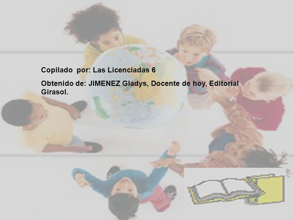 Copilado por: Las Licenciadas 6