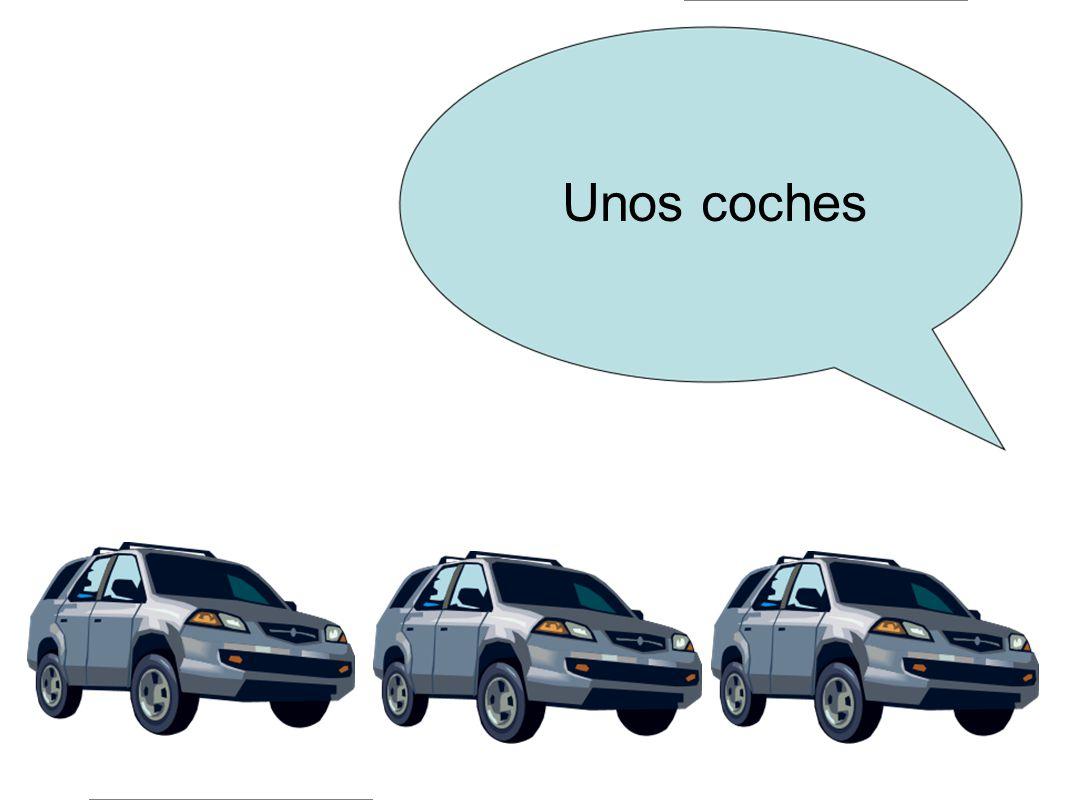 Unos coches