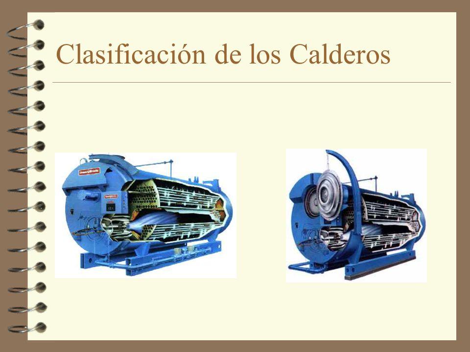 Clasificación de los Calderos