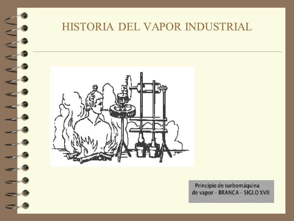 HISTORIA DEL VAPOR INDUSTRIAL