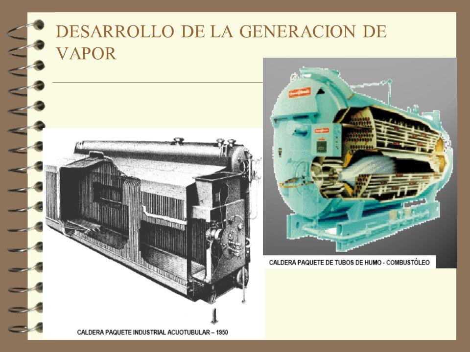 DESARROLLO DE LA GENERACION DE VAPOR