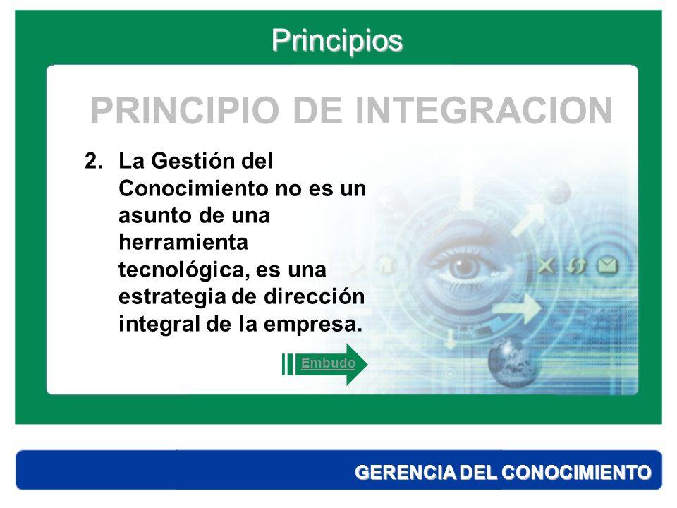 PRINCIPIO DE INTEGRACION