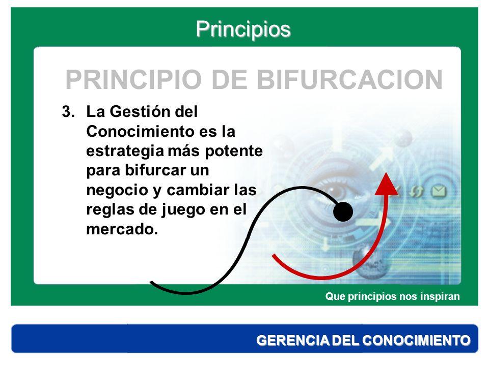 PRINCIPIO DE BIFURCACION