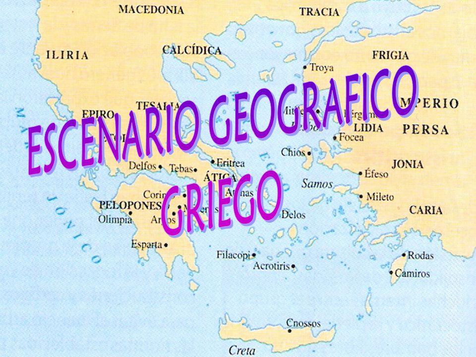ESCENARIO GEOGRAFICO GRIEGO