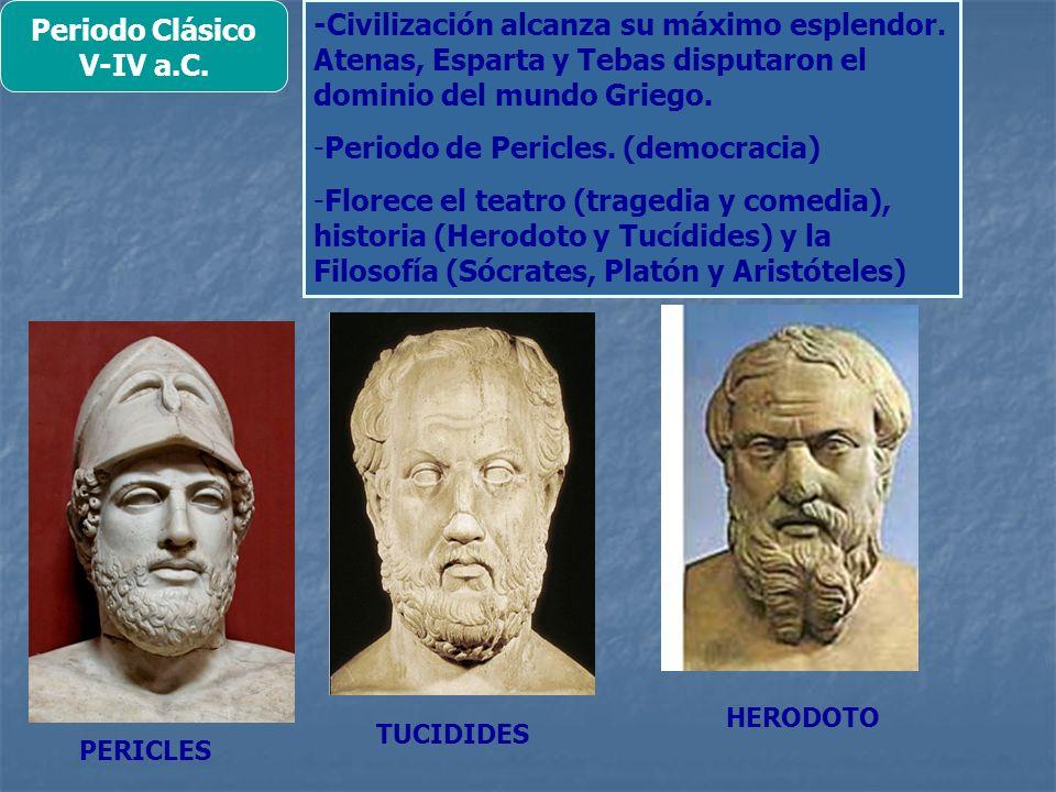 Periodo Clásico V-IV a.C.