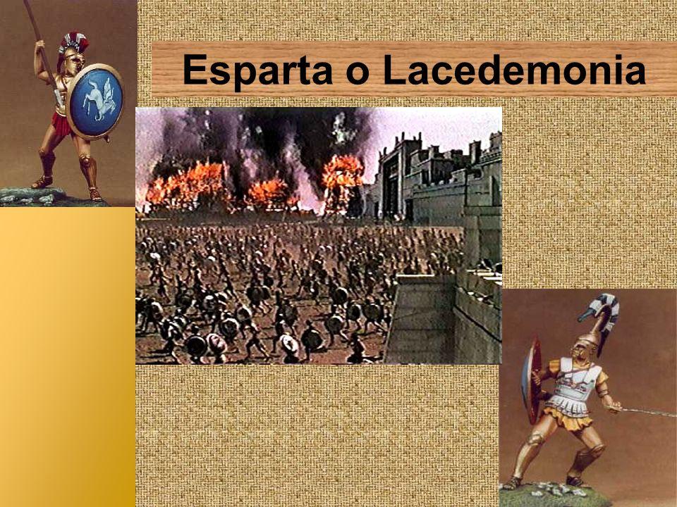 Esparta o Lacedemonia