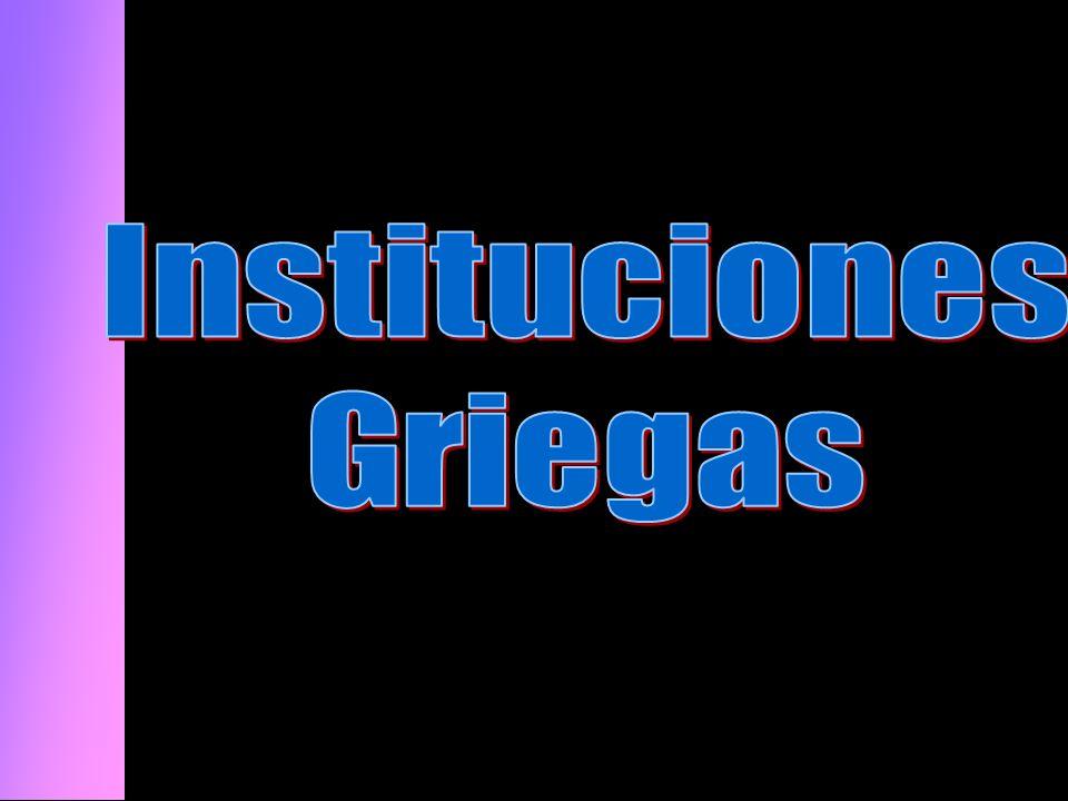 Instituciones Griegas