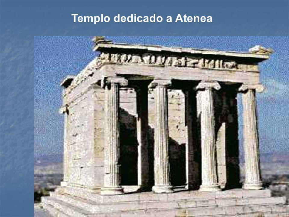 Templo dedicado a Atenea