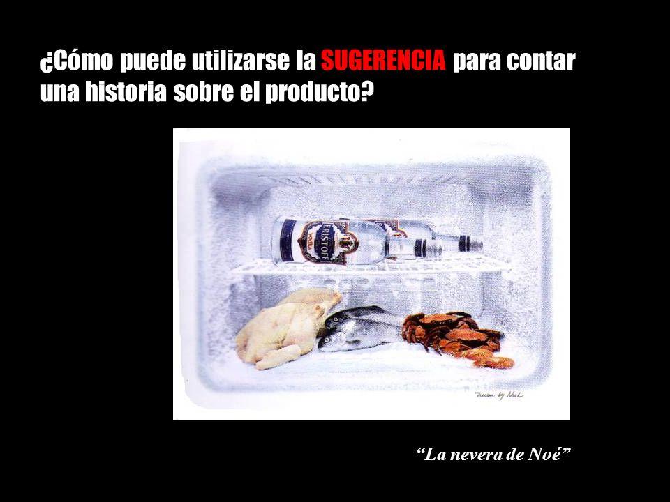 ¿Cómo puede utilizarse la SUGERENCIA para contar una historia sobre el producto
