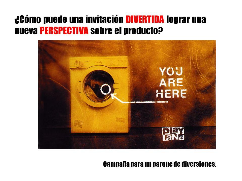 ¿Cómo puede una invitación DIVERTIDA lograr una nueva PERSPECTIVA sobre el producto