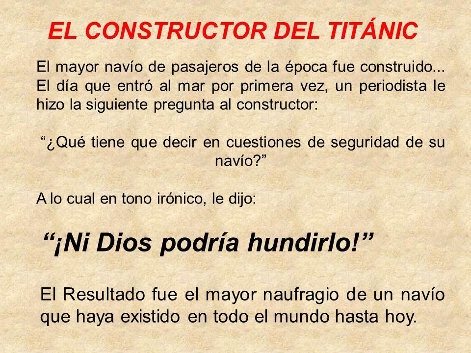 EL CONSTRUCTOR DEL TITÁNIC