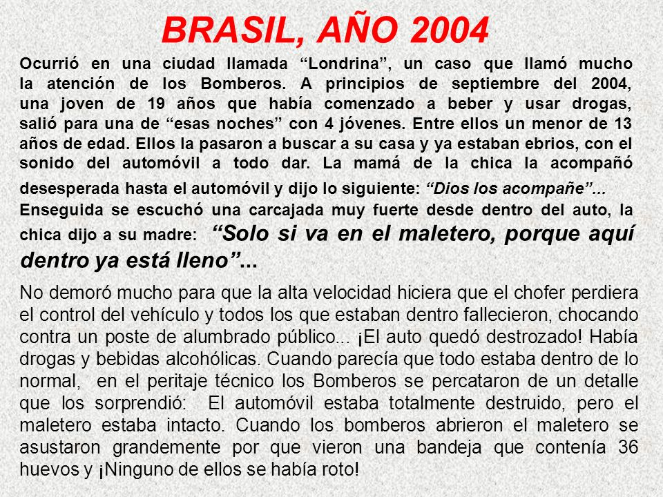 BRASIL, AÑO 2004