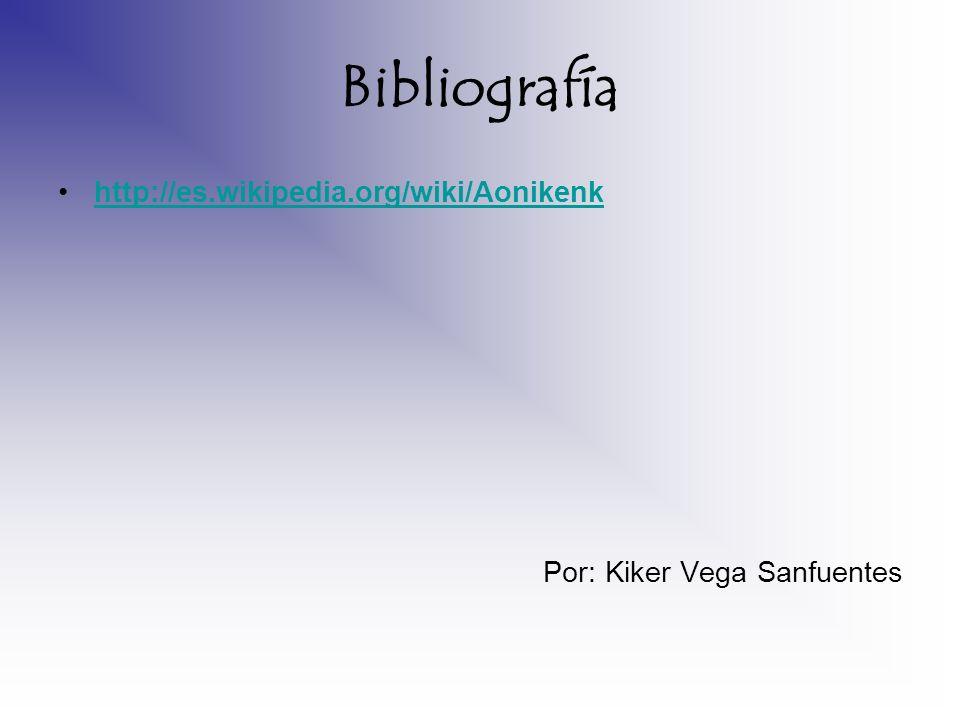 Bibliografía http://es.wikipedia.org/wiki/Aonikenk