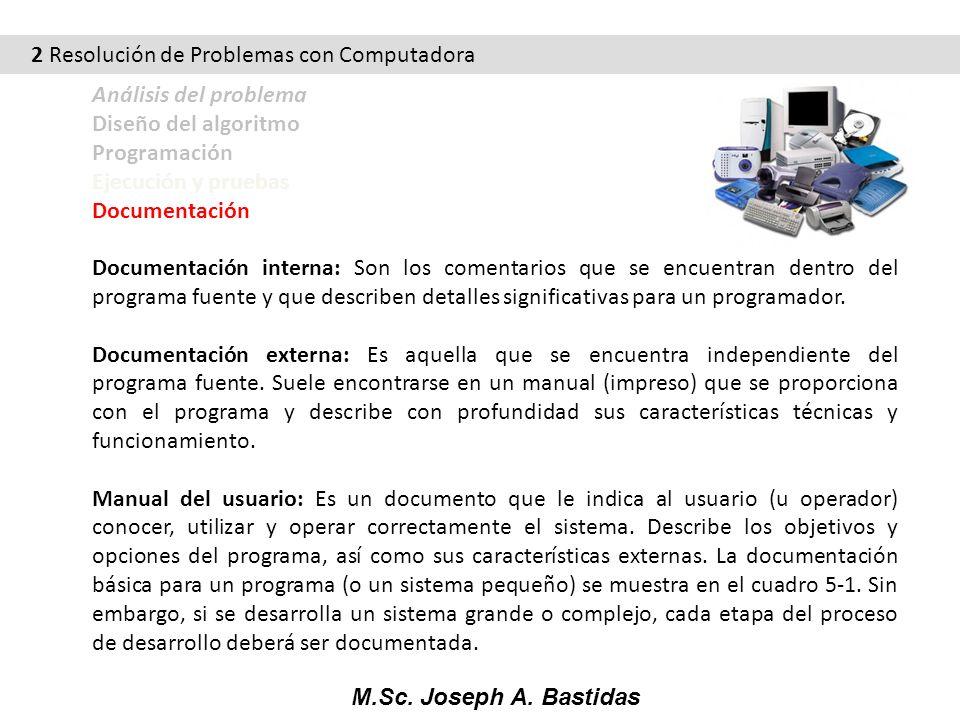 2 Resolución de Problemas con Computadora