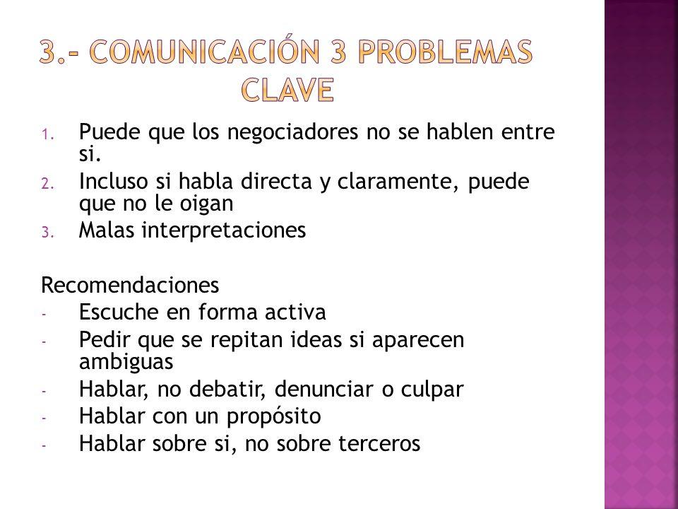 3.- comunicación 3 problemas clave