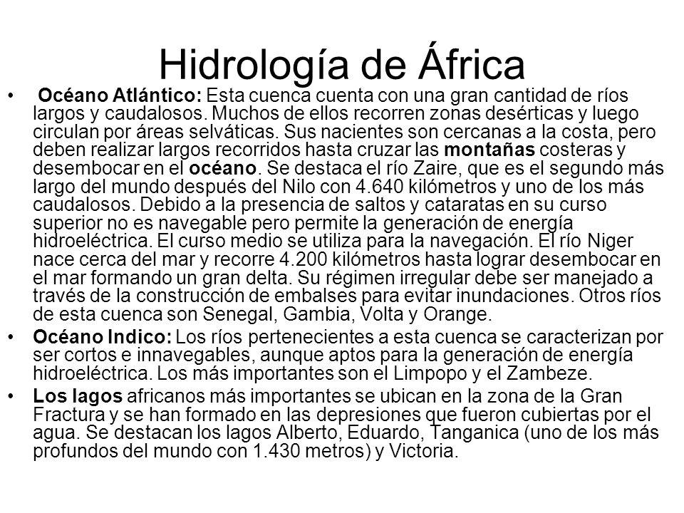 Hidrología de África