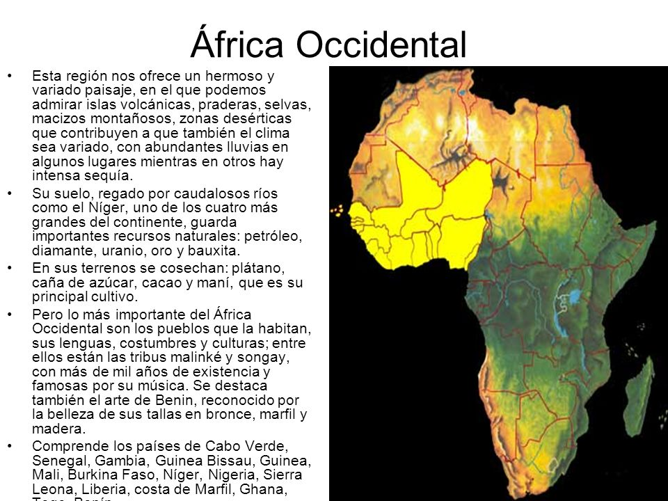 África Occidental