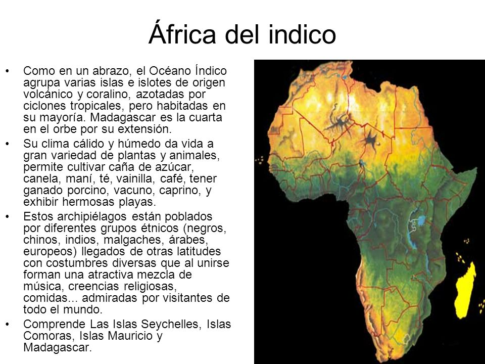 África del indico