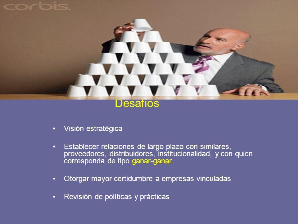 Desafíos Visión estratégica.