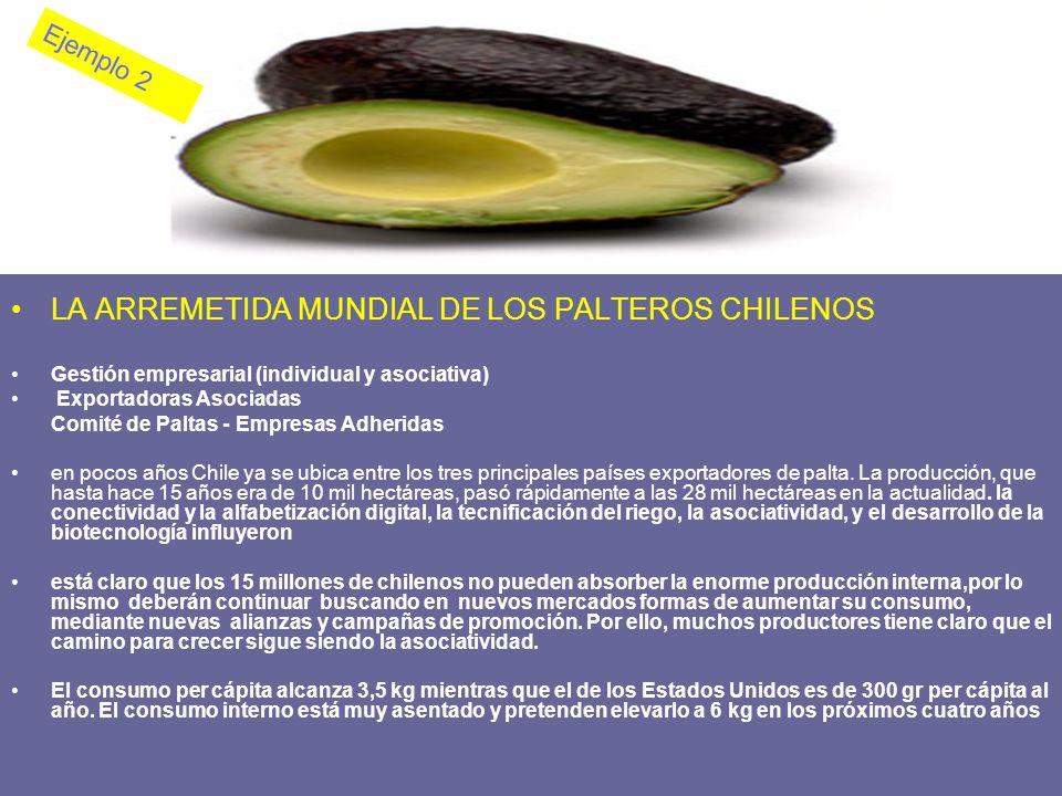 LA ARREMETIDA MUNDIAL DE LOS PALTEROS CHILENOS